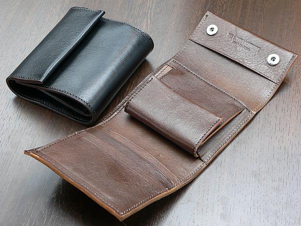 TSL ホースハイドレザー・二つ折り財布